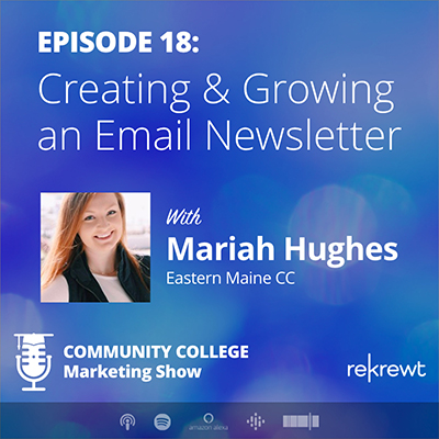 Creating & Growing an Email Newsletter, with Mariah Hughes
