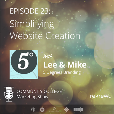 Simplifying Website Creation, with Lee Insko and Mike Robinson