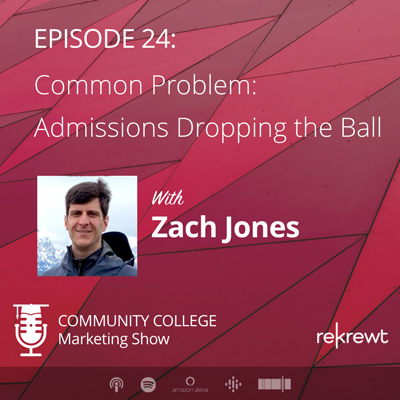 Common Problem: Admissions Dropping the Ball